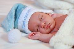 四婴儿老休眠星期 免版税库存图片