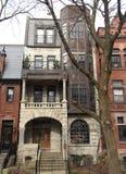 四层的Italianate豪宅 免版税库存照片