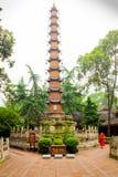四川寺庙 库存照片
