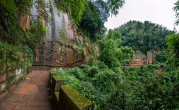 四川蜀国南竹海域三十六大石头 免版税库存照片