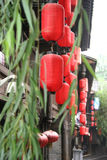 四川,中国古老街道  图库摄影