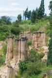 四川,中国- 2014年9月14日:Huanglian地球森林每著名l 免版税库存照片