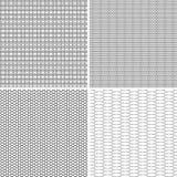 四无缝的样式 库存照片