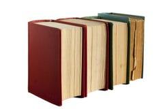 四本旧书 免版税库存照片