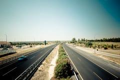 四条高速公路方式 免版税库存照片