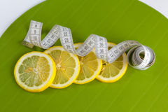 四柠檬评定peaces磁带 免版税库存图片