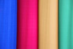 四种垂直的充满活力的颜色背景 库存照片