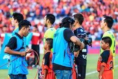 四色菊THAILAND-SEPTEMBER 12 :在泰国总理Lea期间的摄影师 库存图片