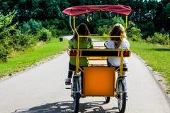 四轮自行车 免版税库存照片