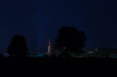 四轮马车在晚上 图库摄影