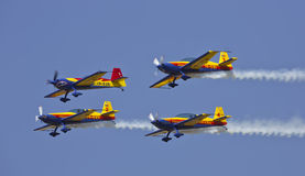 四重唱飞行 免版税库存照片