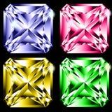 四颗宝石 免版税库存图片