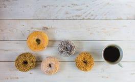 四dilicious多福饼用无奶咖啡 库存照片
