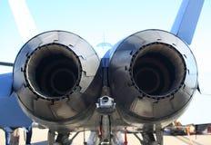 回到喷气机视图 图库摄影