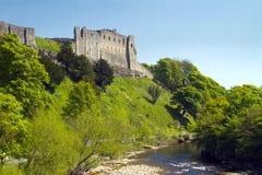 回到城堡rischmond 免版税库存照片