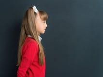 回到女孩学校 免版税库存照片