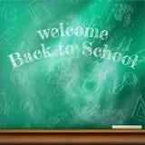 回到学校模板设计 正EPS10 库存图片