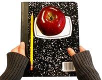 回到学校用品 免版税图库摄影