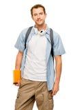 回到学校的大学生人 免版税库存照片
