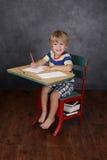 回到学校,教室 免版税库存图片