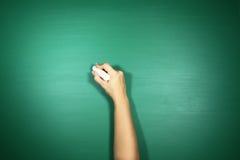 回到学校主题的背景图象的绿色 库存图片