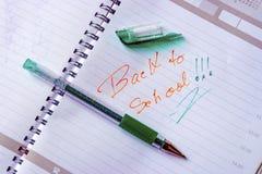 回到学校17 免版税库存照片