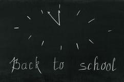 回到学校 库存照片