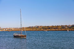 回到德拉瑞码头的风船在加利福尼亚 免版税库存图片