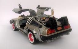 回到未来3汽车的Delorean 免版税库存照片