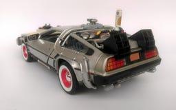 回到未来3汽车的Delorean 免版税图库摄影
