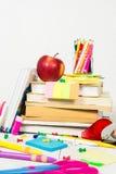 回到概念学校 免版税库存照片