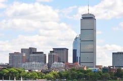 回到海湾波士顿中心谨慎 免版税库存图片