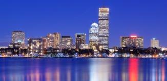 回到海湾波士顿 库存照片