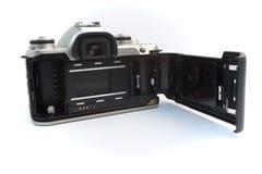 回到照相机slr 库存照片