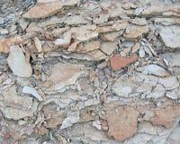 回到破碎石块 免版税库存照片