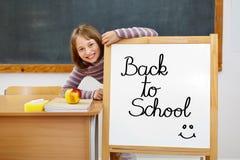 回到董事会学校 免版税库存图片