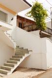 回家的外部楼梯 免版税图库摄影