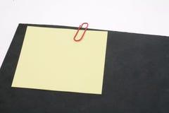 回形针 免版税库存照片