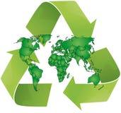 回收世界 库存照片