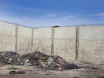 回收产业的轮胎 免版税图库摄影