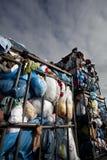 回收衣物 免版税库存照片