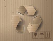 回收保护的标志或标志 库存照片