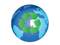回收向量 向量例证