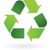 回收图标 向量例证