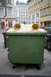 回收垃圾 库存照片