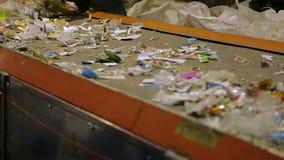 回收工厂劳工 影视素材
