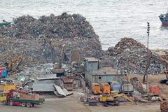回收报废围场 库存图片