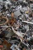 回收报废的金属 库存照片