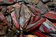 回收报废的金属 免版税库存照片