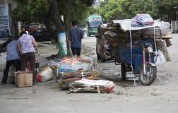 回收收集的物品 免版税库存图片